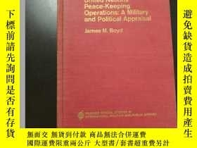 二手書博民逛書店United罕見Nations People-Keeping Operations:A Military and
