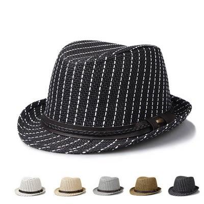爵士帽-英倫時尚復古休閒編織男女禮帽5色71k80【巴黎精品】