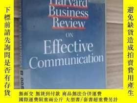 二手書博民逛書店Harvard罕見Business Review on Effe