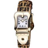 FENDI 芬迪 B.Fendi 金色風華腕錶-小/ 20x25mm F373242F
