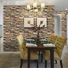 壁貼 3d立體磚紋客廳臥室背景墻墻紙自粘...