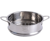 花瓣/金豬圣誕款寶寶輔食鍋蒸屜304不銹鋼16cm奶鍋小蒸籠蒸層蒸格