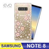 SAMSUNG Note 8 手機殼 奧地利水鑽 立體彩繪 防摔殼 空壓殼 奧地利水晶 櫻花