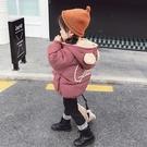 女童棉衣免運新款兒童冬季棉服1洋氣2加厚3外套5歲女寶寶棉襖冬裝