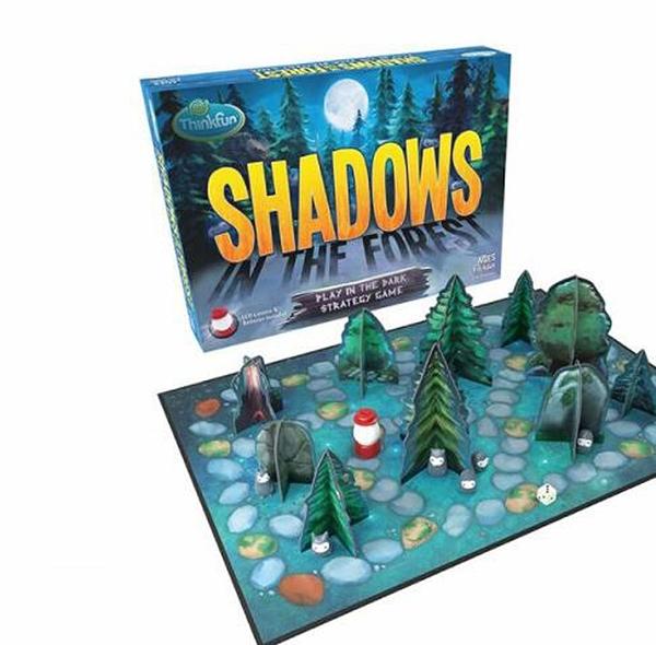 [COSCO代購] W130612 影子森林 Thinkfun Shadows In The Forest