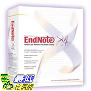 [美國直購] Endnote X4 5224 Student Ed for Windows Student Use Only [Old Version]