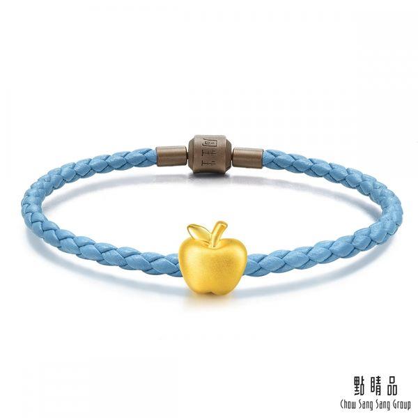 點睛品 Charme 蘋果 黃金串珠