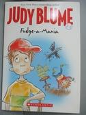 【書寶二手書T1/原文小說_HRZ】Fudge-a-Mania_Judy Blume