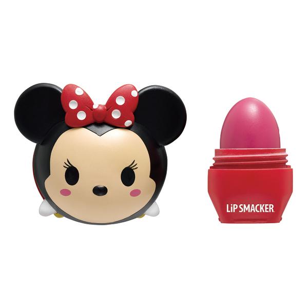 Lip Smacker TSUM TSUM迪士尼護唇膏-米妮(草莓棒棒糖)