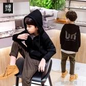 童裝男童外套秋季兒童運動上衣中大童洋氣連帽衫韓版潮款快速出貨