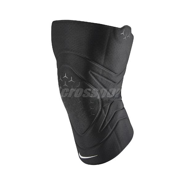 Nike 護膝套 Pro Closed Patella Knee Sleeve 黑 白 男女款 護具 健身 訓練 運動休閒 【ACS】 N1000674-010