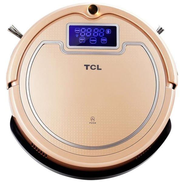 TCL掃地機器人智慧家用靜音全自動一體機洗擦拖地機吸塵器S18  igo