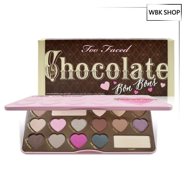 Too Faced 16色心型巧克力眼影盤 Chocolate Bon Bons - WBK SHOP