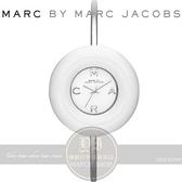 【南紡購物中心】MARC BY MARC JACOBS國際精品Donut 甜甜圈時尚手環腕錶-白/40mm MBM3396