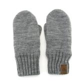 兒童手套男童冬季連指針織手套毛線溫暖抓絨分指寶寶手套