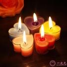 美樂酷 心形蠟燭 阻燃外殼 創意無煙蠟燭浪漫 表白 生日 婚禮蠟燭