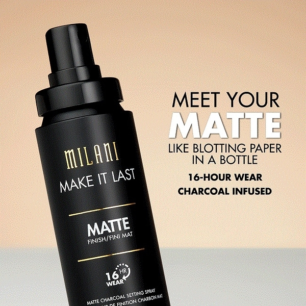 Milani Make It Last Charcoal Matte 長效持久霧感控油定妝噴霧 60ml