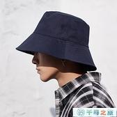 漁夫帽男士大頭圍帽子秋冬季防曬帽太陽帽遮陽帽男【千尋之旅】