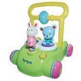 【奇買親子購物網】樂雅 Toy Royal 動物音樂助步車