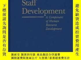 二手書博民逛書店Nursing罕見Staff Development: A Component of Human Resource