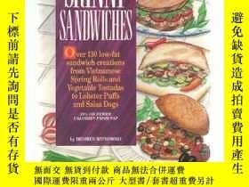 二手書博民逛書店Skinny罕見Sandwiches over 130 Low-Fat Sandwich Creations fr