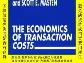 二手書博民逛書店The罕見Economics Of Transaction CostsY256260 Williamson,
