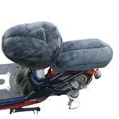 自行車坐墊座套電動車坐墊套舒適保暖通用加絨加厚電動【極簡生活館】