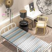 折疊床單人床家用成人午休床簡易便攜隱形兒童床木板床午睡床 QQ25132『東京衣社』