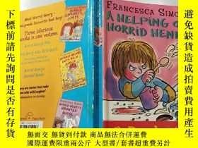 二手書博民逛書店A罕見Helping of Horrid Henry: 《恐怖的亨利》Y200392