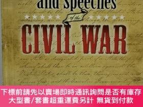 二手書博民逛書店美國內戰著名文件與演說集罕見Famous Documents and Speeches of the Civil