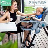 寶寶餐椅 寶寶餐椅可摺疊多功能便攜式兒童嬰兒椅子小孩吃飯餐桌座椅 1995生活雜貨igo
