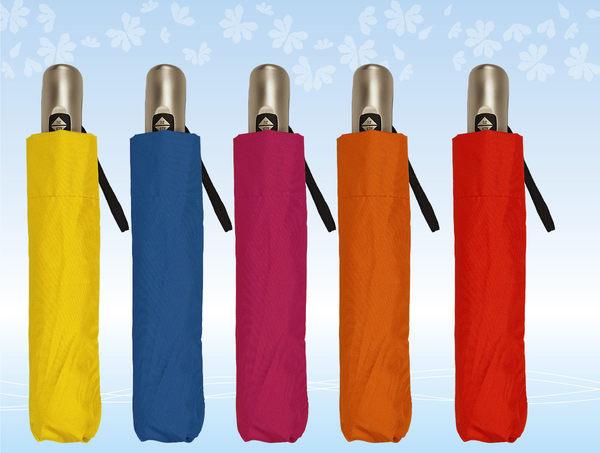 (特價) 素色自動開收折疊傘 五色可選 AT0022 (OS小舖)