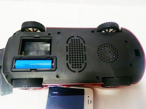 【世明國際】超級加大版 布加迪汽車隨身碟/U盤/TF/可插IPHONE/帶FM收音重低音 送USB充電器
