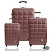 行李箱28+24+20吋 ABS材質 愛上巧克力系列【Justbeetle】