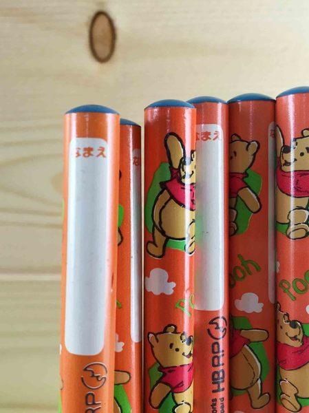 【震撼精品百貨】Winnie the Pooh 小熊維尼~6入鉛筆-橙