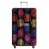 行李保護套 跨境專供 彈力箱套 行李箱保護套 旅行箱拉桿箱保護套加厚防塵套 卡菲婭