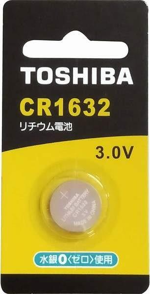 TOSHIBA 鋰電池-CR1632-1入
