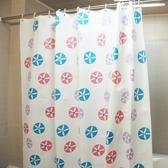 浴簾衛生間浴簾PEVA加厚塑料防水防霉浴簾門簾窗戶掛簾圖案尺寸隨機發 新品