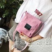 夏天小包包女新款布藝零錢手機包小清新單肩斜背包迷你帆布包