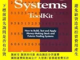 二手書博民逛書店The罕見Trading Systems Toolkit-交易系統工具包Y436638 Joe Krutsin