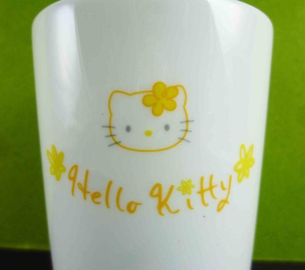 【震撼精品百貨】Hello Kitty 凱蒂貓~陶瓷杯~黃花