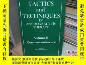 二手書博民逛書店tactics罕見and techniques in psych