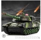 玩具車 超大號遙控坦克充電動履帶式金屬坦克模型可發射兒童男孩玩具汽車 星河光年DF