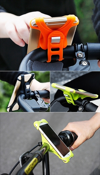 快拆單車 自行車 腳踏車 機車 4~6吋手機車架