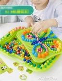 拼圖蘑菇釘拼圖兒童益智玩具1-3-6周歲4男女孩5早教2幼兒寶寶智力開發 交換禮物