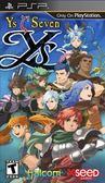 PSP Ys Seven 伊蘇 7(美版代購)