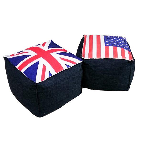 沙發 懶骨頭 躺椅 Richard英美方形超微粒懶骨頭【DD House】