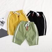 男童褲子夏薄款1-4歲3嬰兒童裝男寶寶棉麻七分褲夏裝中褲小童短褲