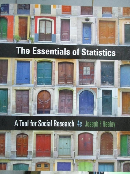 【書寶二手書T4/社會_YAS】The Essentials of Statistics: A Tool for Soc