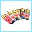 貝柔 太空系列兒童止滑短襪 15-18cm 外星人 童  隨機出貨